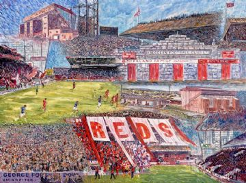 The Pittodrie Years Print